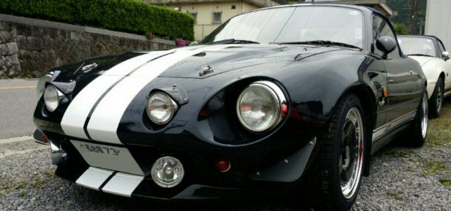 ランプ類追加で往年の欧州スポーツカーの雰囲気を楽しむ。