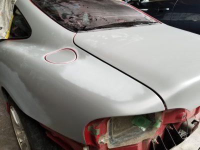 ロードスター・クーペ全塗装 ⑥ 塗装前の下処理Ⅱ