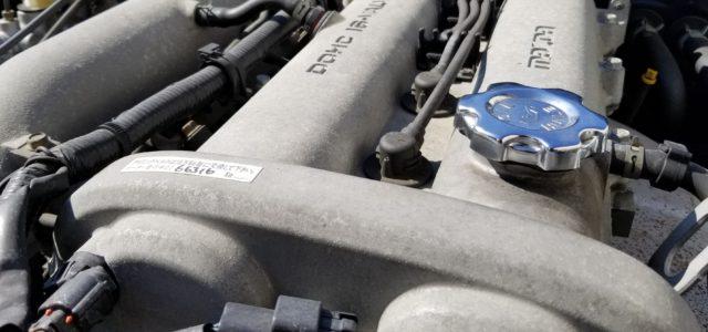 エンジンのアクセントとして。